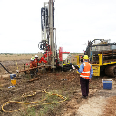 New well installation Moree Landfill-Moree Plains Shire Council